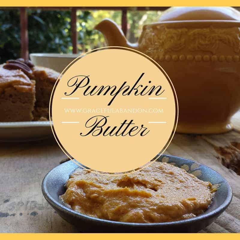 graceful abandon thm S pumpkin butter frosting