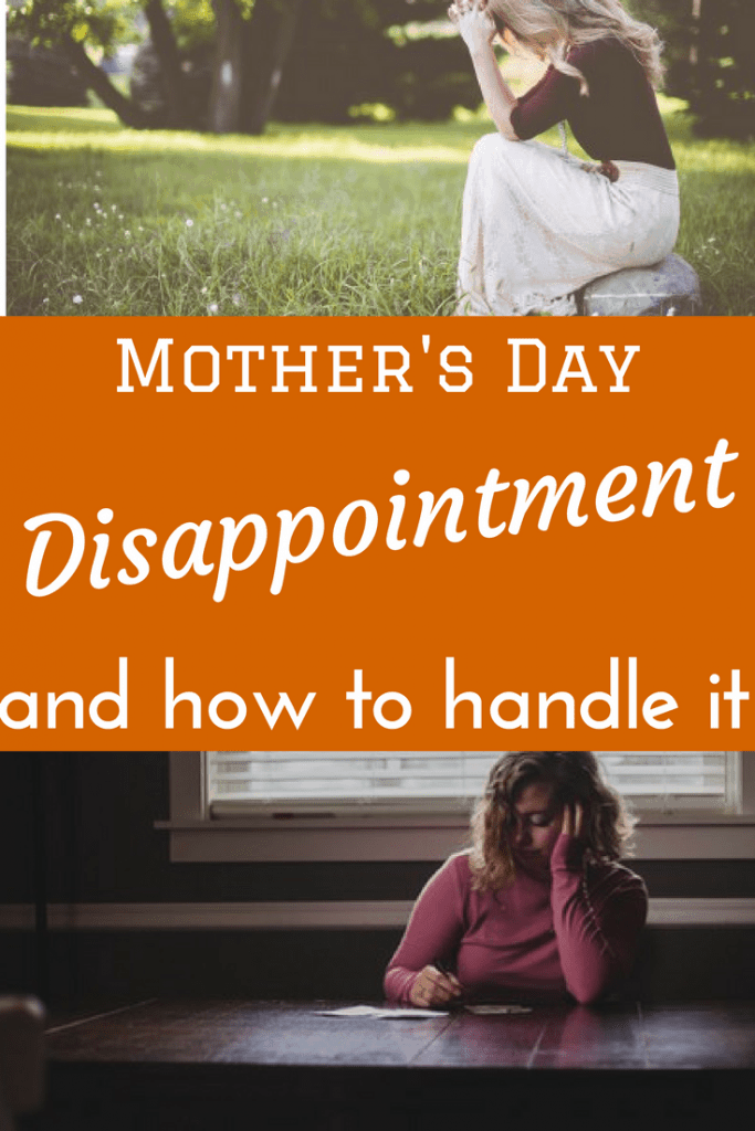 Encouragement for those struggling with Mother's Day disappointment.