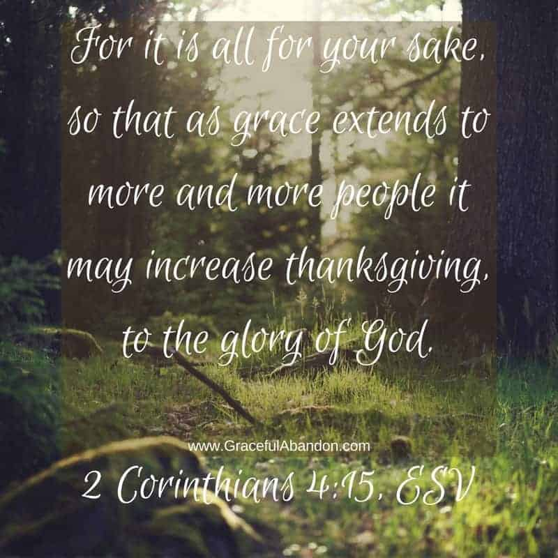 Extend Grace to Increase Thanksgiving when Parenting Teens and Toddlers at the Same Time